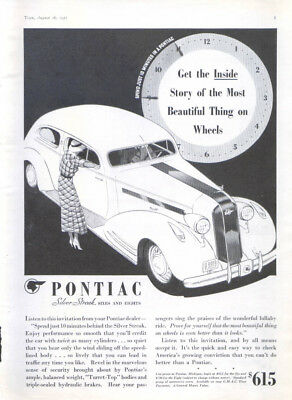 Get the inside story of the beautiful Pontiac ad 1935