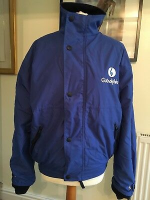 HORSE RACING GODOLPHIN Fleeced Winter Jacket Size S 44 inch chest