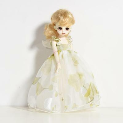 Dolls Dress Clothes for 1/6 SD BJD Dollfie Princes Lace Tulle Green Floral