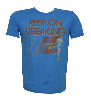 """Junk Food """"Keep On Streaking"""" Blueberry T-Shirt"""
