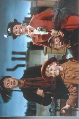 """T 76 Julie Andrews & Co Stars Mary Poppins    6""""x 4"""" Mint Photo"""