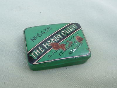 An vintage Allcock's Handy outfit Fishing tackle tin