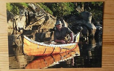 Ray Mears Hand Signed Autographed 8x6 PR Photo TV Explorer Bushcraft
