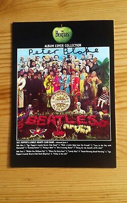 Sir Peter Blake Hand Signed Autographed The Beatles Sergeant Pepper Album P/c