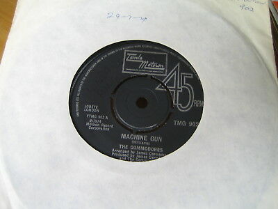 The Commodores - Machine Gun  1974   Vinyl Ex/con