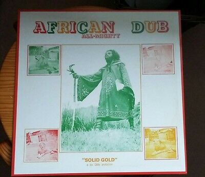 JOE GIBBS African Dub All Mighty, 12 Track LP - EXCELLENT CONDITION UK POST