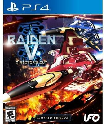 Raiden V: Directors Cut Limited Edition With Soundtrack CD (PlayStation 4)