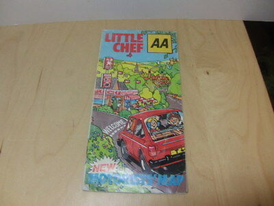 Little Chef – Motorists' Map 1982 restaurant