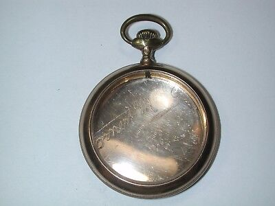 American 16 Size YGF Open Face Pocket Watch Case. 112M