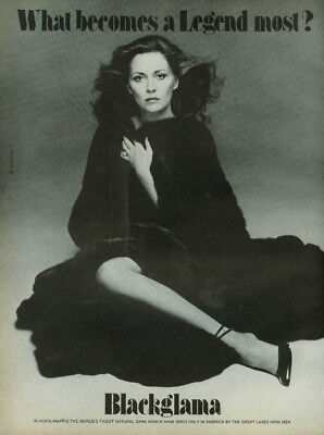 Faye Dunaway What becomes a legend most? Blackglama Mink ad 1979