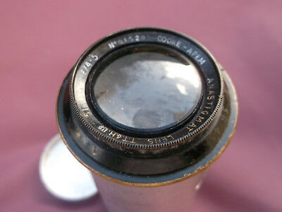 Very Vintage COOKE - APEM 5 inch f4.5 in (Hand Made?) M39 Focussing Mount