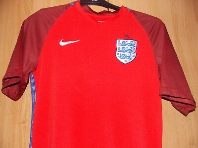 Nike England Fc Away shirt 2016-2017 size on tag med 36 in chest