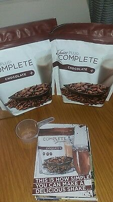 juice plus chocolate shakes x pouches x 2. 1 DAY LISTING ***