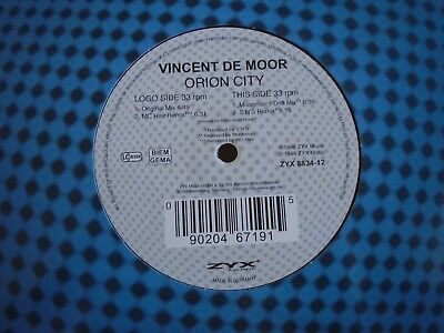 "VINCENT DE MOOR ~ Orion City ~ 12"" Single"