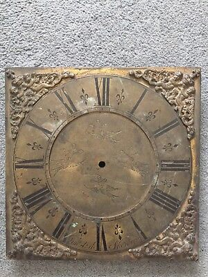 Early Longcase Clock Dial, 30 Hour Clock,