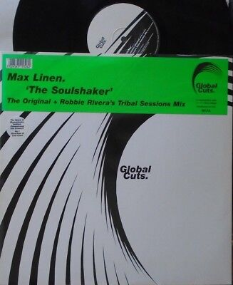 "MAX LINEN ~ The Soulshaker ~ 12"" Single PS"