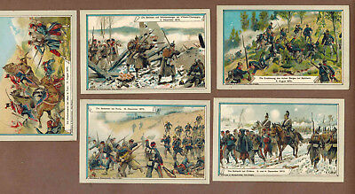 MILITARY: Collection of RARE Victorian Trade Cards from Germany (1900)b