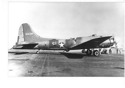 US Army Air Force Boeing B-17 Flying Fortress 124341 Real Photograph
