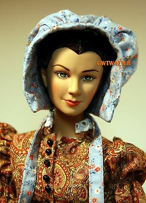 SUNBONNET for TONNER SCARLETT O'HARA Custom Cotton Picking GONE WITH THE WIND s