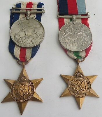 Authentic Wwii Medal Group