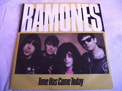 Ramones ~ Time Has Come Today ** 1983 Sire 45 Mint-
