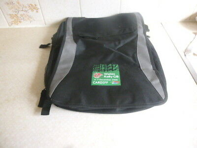 Wales Rally Gb Rally Rucksack - 2008 Event - Unused And In Excellent Condition