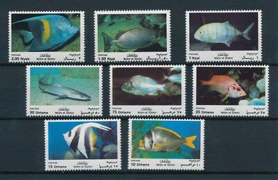 [94095] State of Qatar Fishes good set Very Fine MNH stamps