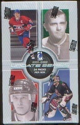 2001-02 ITG Be A Player Update Series NHL Hockey Hobby F/Sealed Box