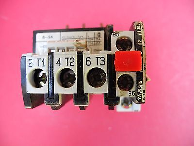 Benedikt & Jager Overload Relay U12/16E 9MC. Serial No. 9C5. 690V. Coord 2. USED