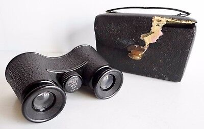 VERY RARE OLD PAIR OF CARL ZEISS JENA GALAN 2 1/2x  OPERA GLASSES - No. 28266