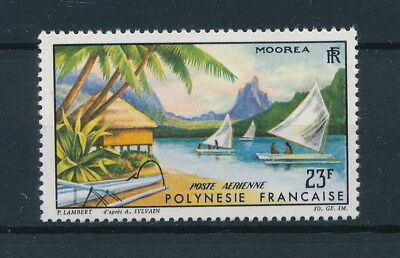 [96259] Polynesia 1964 Boats good Airmail stamp Very Fine MNH