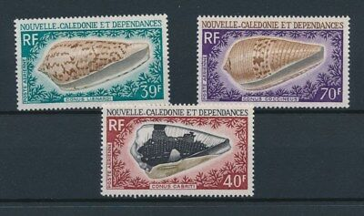 [96497] New Caledonia 1968 Shells good set Very Fine MNH Airmail stamps