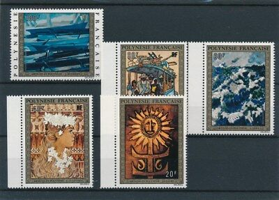 [96561] Polynesia 1973 Paintings good set Very Fine MNH Airmail stamps V: $130