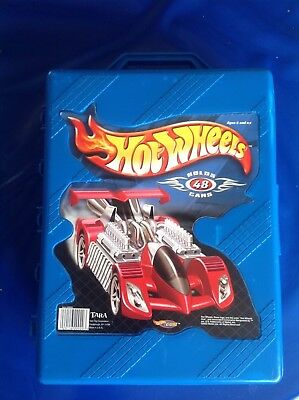 Hot Wheels Carry Case Holds 48 Cars also Suitable for MatchBox and Husky Cars