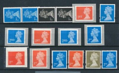 [97058] UK Queen Elizabeth II good lot Very Fine Adhesive stamps