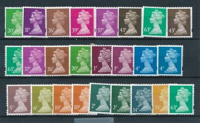 [97067] UK Queen Elizabeth II good lot Very Fine MNH stamps