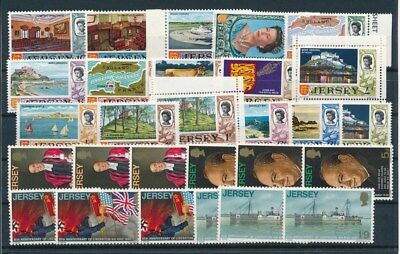 [G94831] Jersey good lot Very Fine MNH stamps