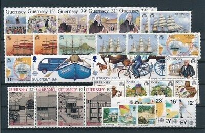 [G95030] Guernsey good lot Very Fine MNH stamps
