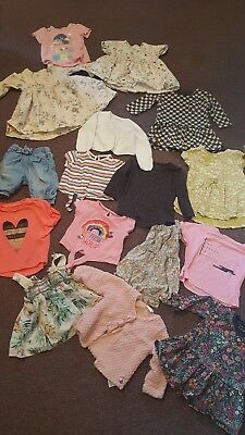 girls next river island and more bundle 9-12 months 16 items