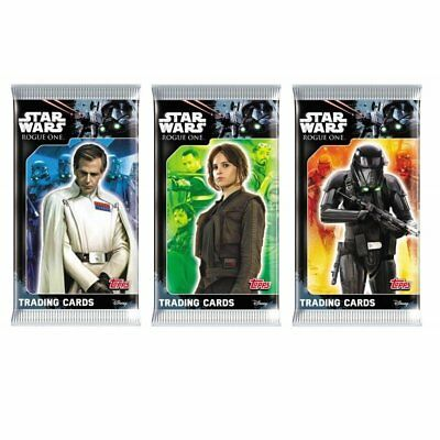 Neu Topps - Star Wars Rogue One - 10 Booster / 50 Karten - OVP