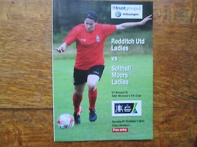 REDDITCH UNITED LADIES v SOLIHULL MOORS LADIES (FA CUP) 8TH OCTOBER 2017