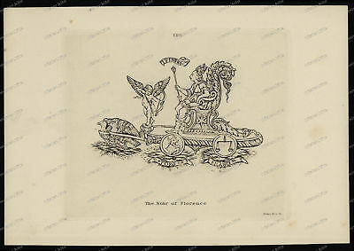 Druck-Stahlstich-Engraving-The-Star-Of-Florence-Allen&Co.Sc-46