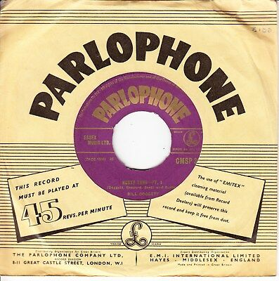Bill Doggett 1956 Uk Gold Parlophone Export Issue Cmsp 39 *honky Tonk-Pt1 & 2*