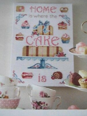 Tea and Cake Designs Cross Stitch Chart (From Magazine)