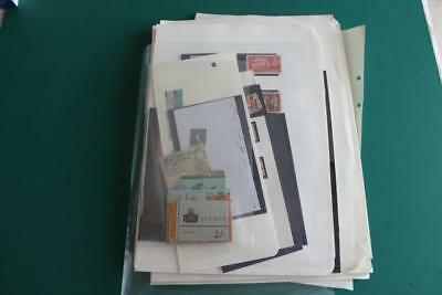 GB - Interesting Mixed Lot of Stamps QV onwards and Postal History Booklets etc