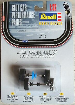 Revell Monogram 1/32: 89114 Shelby Cobra Daytona Coupe complete axle set. New