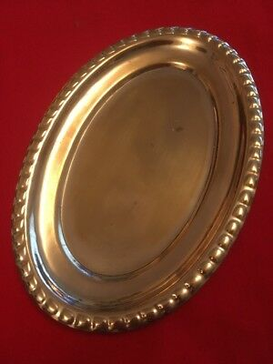 Vintage Silver Plated Condiment Tray c.1960's
