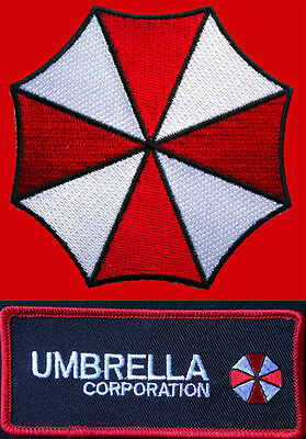 Resident Evil Umbrella Corporation Logo 3 Inch Iron On Patch