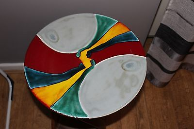 Large Poole Pottery Studio Charger / Dish