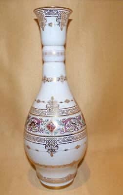Sevres Louis Phillipe Chateau Fontainebleau Royal Hunting Service Pattern Vase 1
